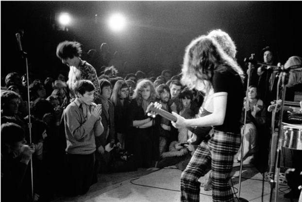 Led Zeppelin Konzert 1970 in Montreux