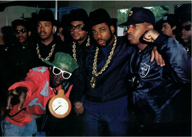 RUN DMC und Public Enemy 1988